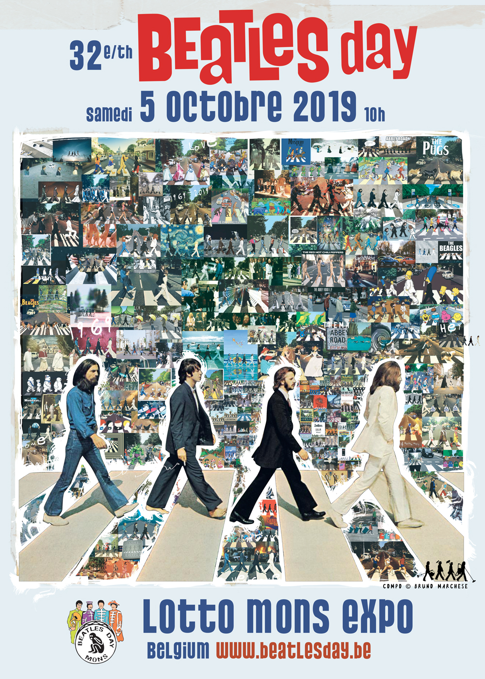 32ème Beatles Day samedi 5 octobre 2019 au Lotto Mons Expo