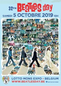 32ème Beatles Day samedi 5 octobre 2019 au Lotto Mons Expo