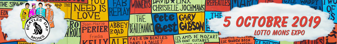 Prochain Beatles Day Mons : 17 octobre 2015